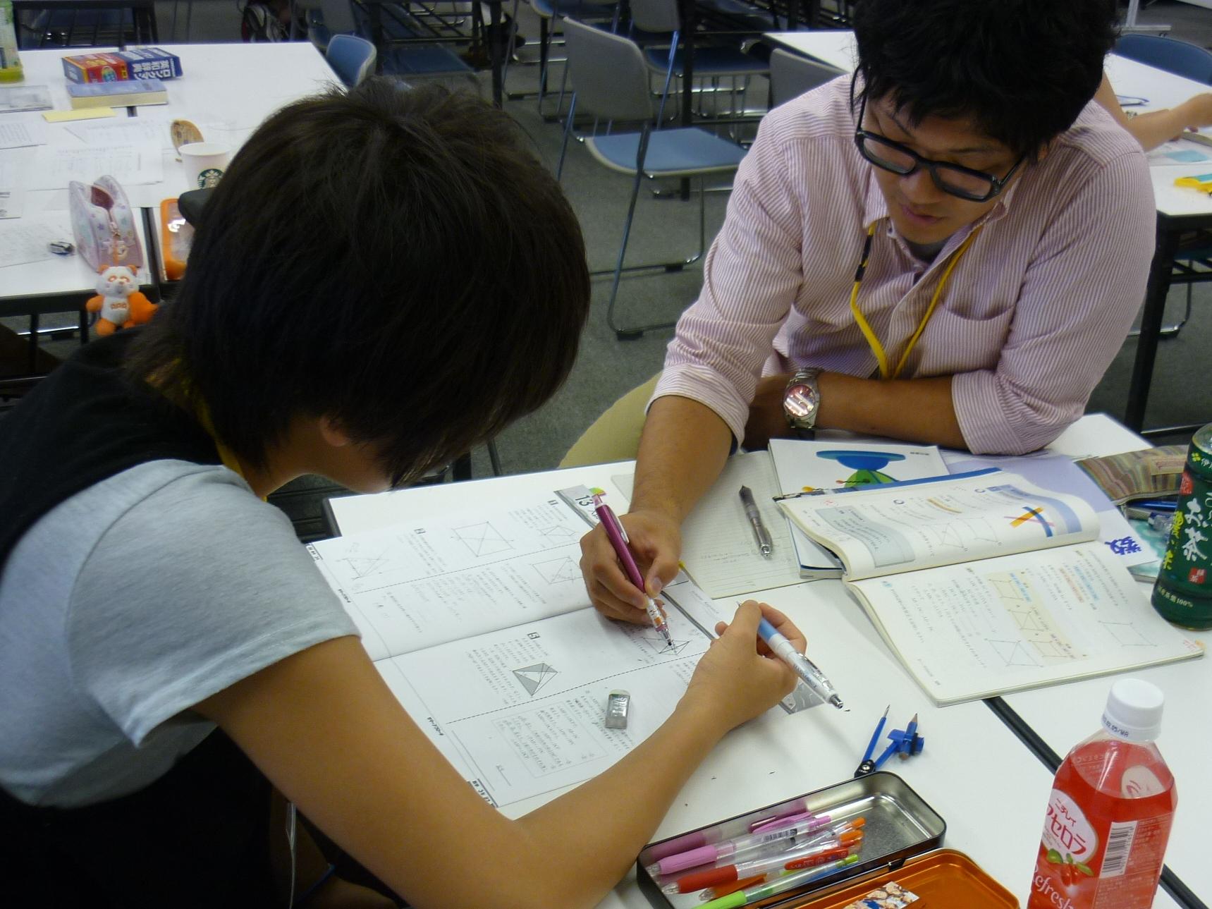 仙台での学習風景(中高生の学習支援、[タダゼミ]&[ガチゼミ])